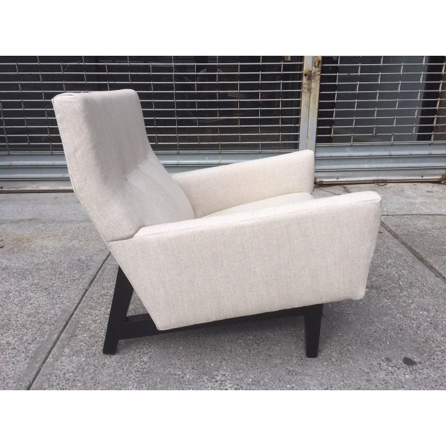 Mid-Century Modern Jens Risom Lounge Chair For Sale - Image 3 of 6