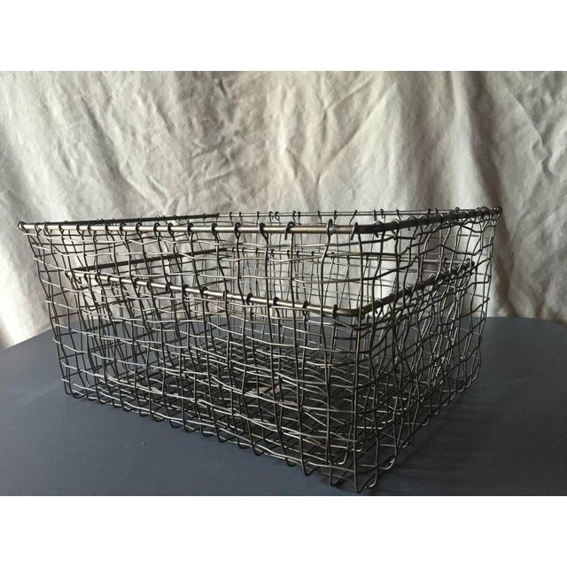 French Wire Vintage Style Market Baskets- Set of 3 - Image 2 of 11