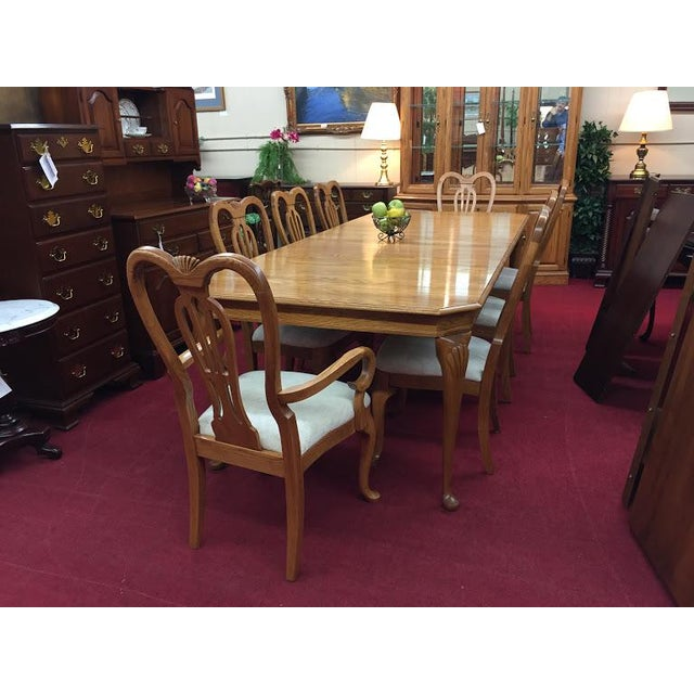Surprising Queen Anne Pennsylvania House Oak Dining Table Chairish Dailytribune Chair Design For Home Dailytribuneorg