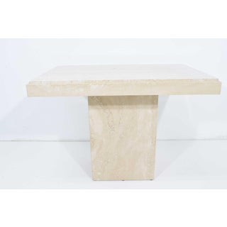 Travertine Marble Side Table Preview