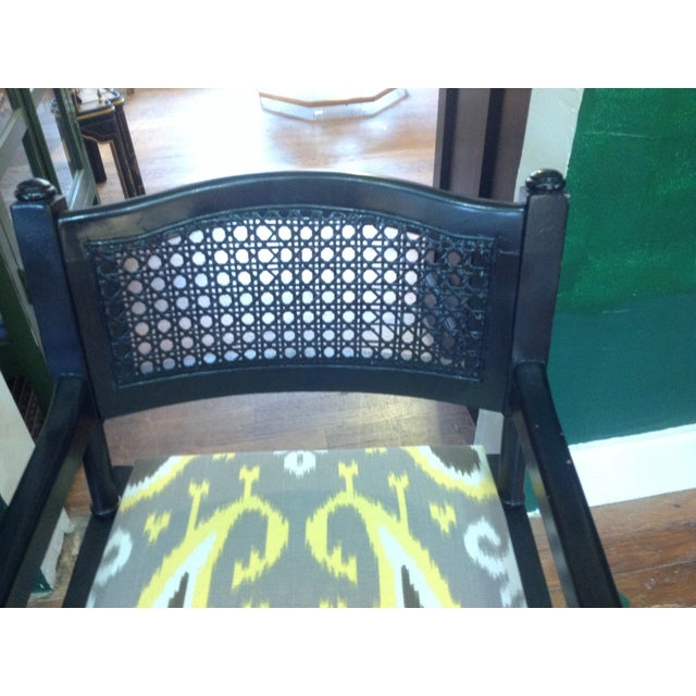 Mid-Century Campaign Chairs - Pair - Image 6 of 7