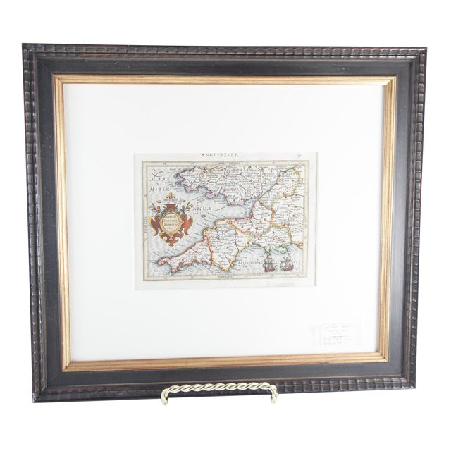 Antique Map of England For Sale