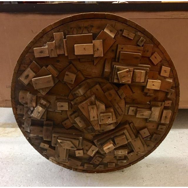 Wood Sculpture by George J. Marinko For Sale In New York - Image 6 of 6