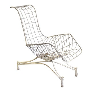 1950s Vintage Vladimir Kagan Capricorn Lounge Chair For Sale