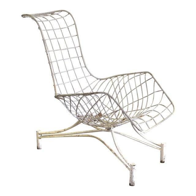 1950s Vintage Vladimir Kagan Capricorn Lounge Chair For Sale