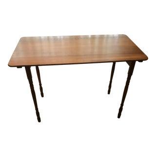 Wood Embossed Seamstress Table