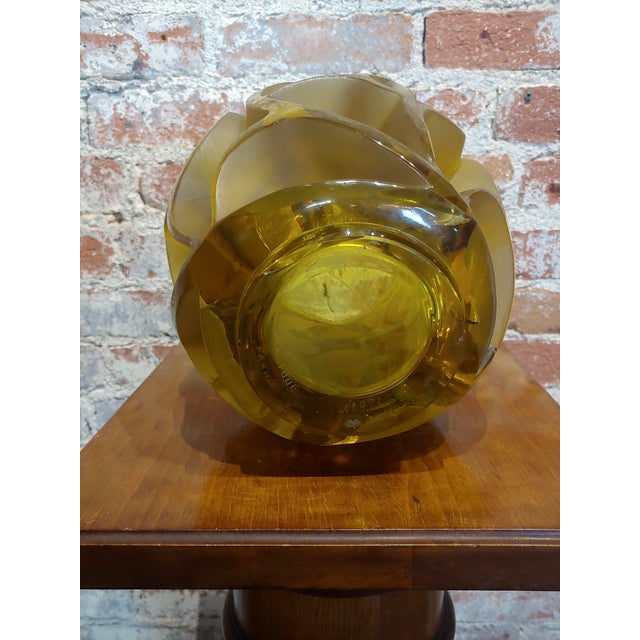 Renee Lalique No.973 Tourbillons Vase For Sale - Image 4 of 11