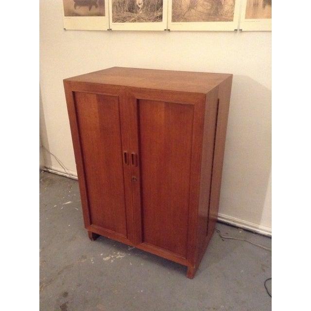 Mid-Century Modern Mid-Century Modern Folding Secretary Desk For Sale - Image 3 of 11