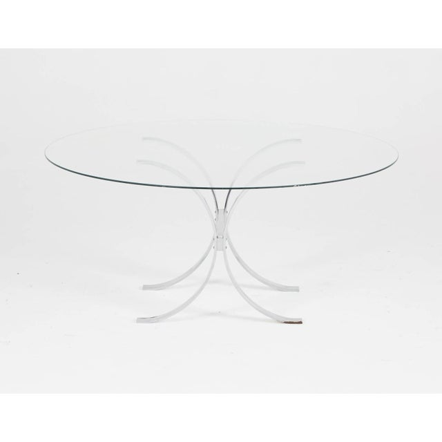 Pace Style Glass and Chrome Coffee Table - Image 5 of 7