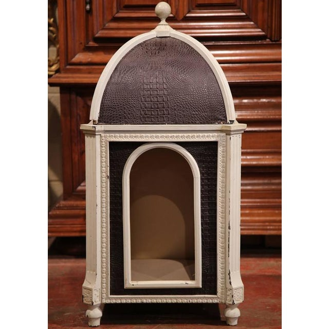 Treat your dog to something special with this Classic, one-of-a-kind dog house from France. The carved frame of the dog...