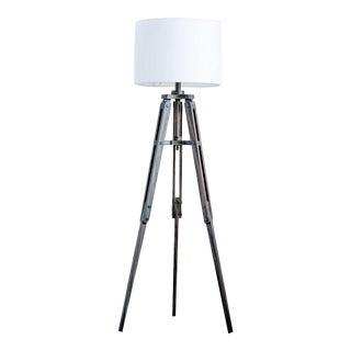 Tripod Wooden Floor Lamp For Sale