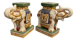 Image of Elephant Bookends