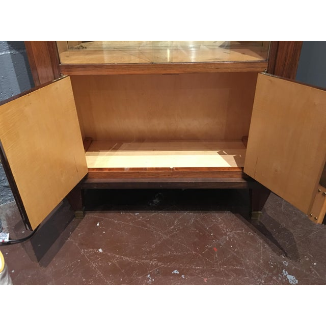 French Mid-Century Modern Rosewood Bar For Sale - Image 9 of 12