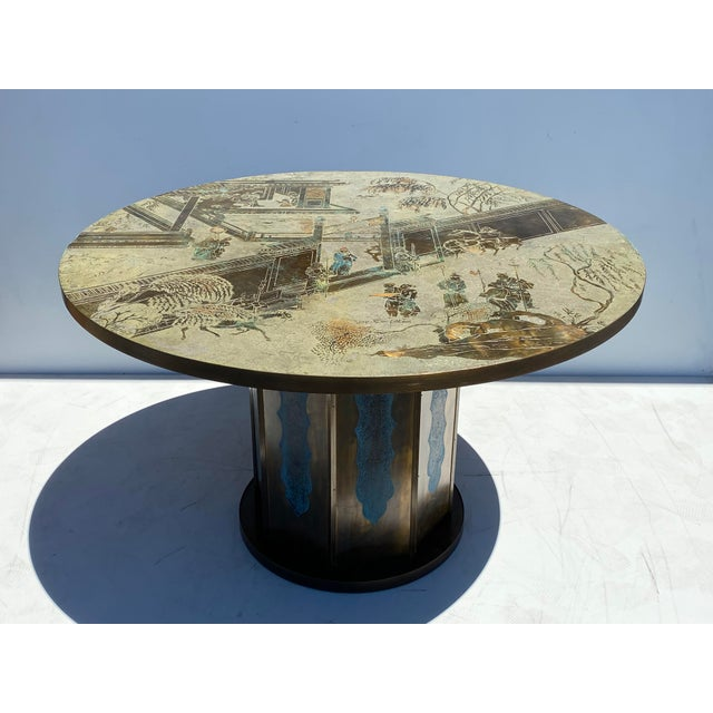 "LaVerne ""Chan"" Dining/Game Table For Sale - Image 10 of 10"