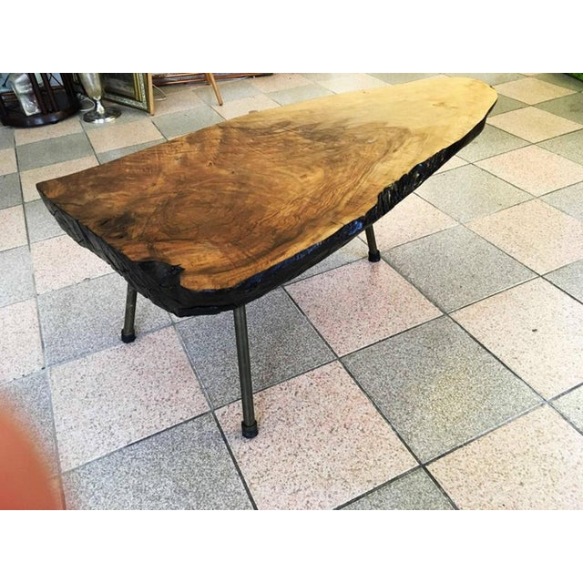 Carl Auböck Big Tree Table by Carl Aubock, 1950s For Sale - Image 4 of 11
