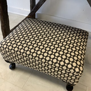 Schumacher Betwixt Vintage Foot Stool Preview