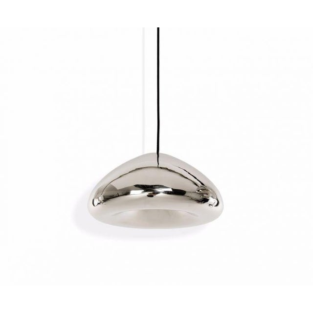 Tom Dixon Void Pendant Steel For Sale In Los Angeles - Image 6 of 6