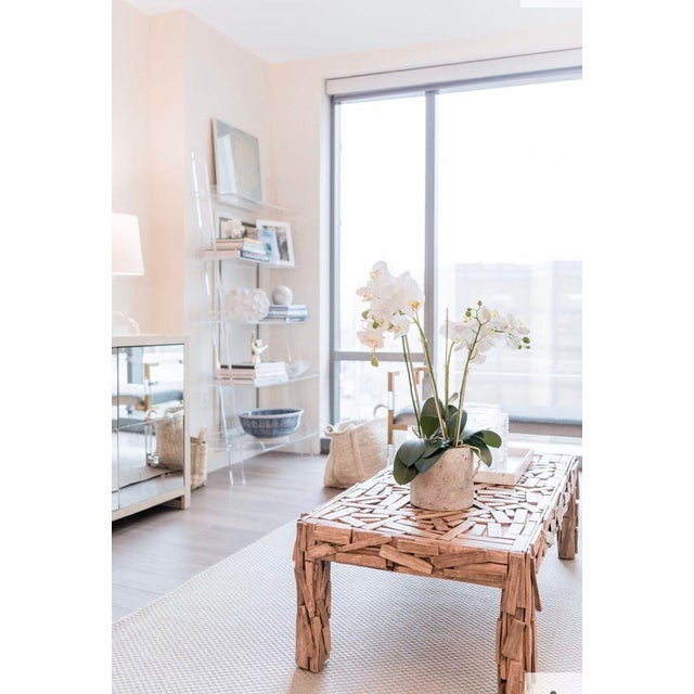 So much charm and versatility! This vintage piece combines rustic, coastal and contemporary elements to great effect....