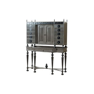 Contemporary Gentry Fluted Cabinet For Sale