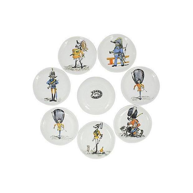Bucciarelli Bucciarelli Italian Coasters - Set of 8 For Sale - Image 4 of 4
