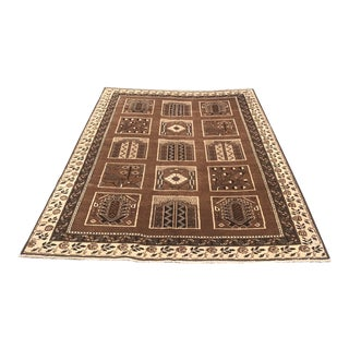 """Old Persian Rug 5'11"""" X 8'6 For Sale"""