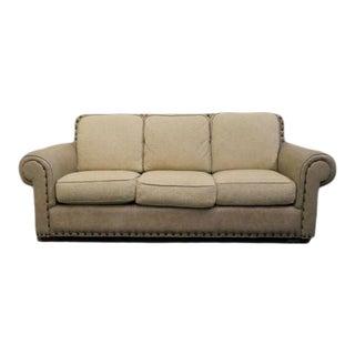Thomasville Furniture Leather Sofa For Sale