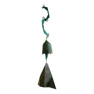 Paolo Soleri Bronze Wind Chime Bell For Sale