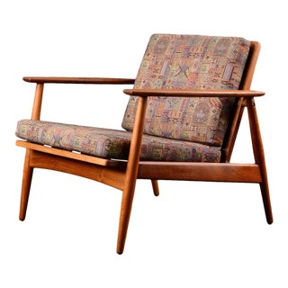 Mid Century Moreddi Danish Modern Teak Lounge Chair For Sale