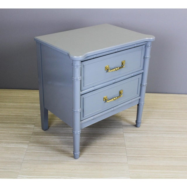 Vintage Palm Beach Style Nightstands - A Pair - Image 6 of 11
