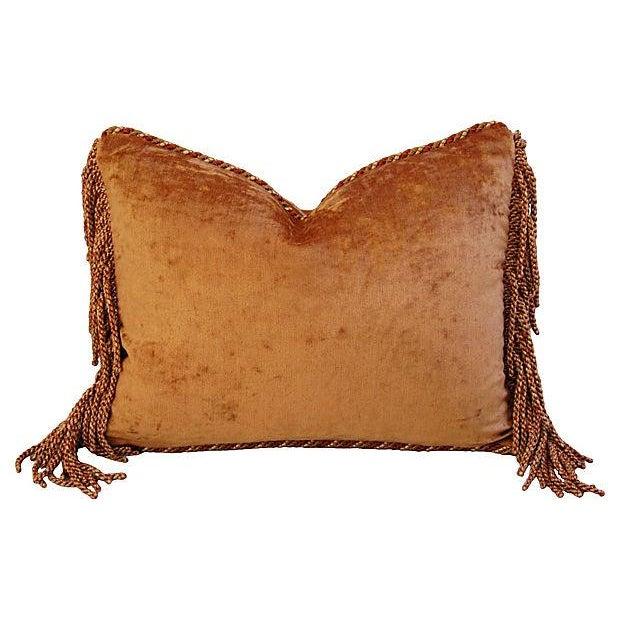 Custom Brunschwig & Fils Bird & Thistle Pillow - Image 6 of 6
