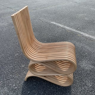 Frank Gehry Style Rattan Chair Preview