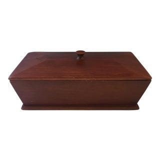 Antique English Wood Box