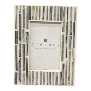 Contemporary 4x6 Bone Picture Frame For Sale