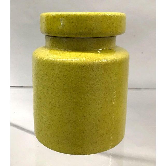 Italian Mid-Century Italian Bitossi Lidded Jar For Sale - Image 3 of 8
