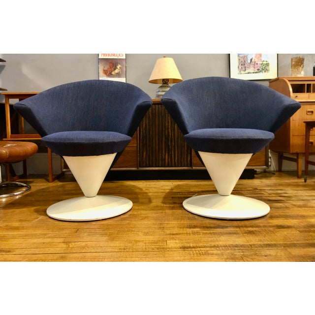 Mid Century Modern Adrian Pearsall Cone Chairs for Craft Associates - a Pair For Sale - Image 11 of 11
