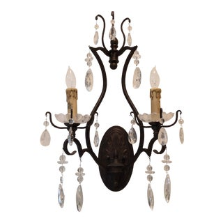 Savoy Traditional Wall Crystal Sconce
