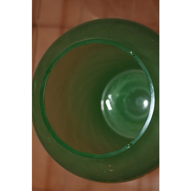 Green 1930s Art Deco Jade Vase For Sale - Image 8 of 8