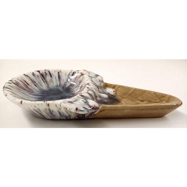 Ceramic Vintage Artisan Ceramic Ice Cream Cone Dish For Sale - Image 7 of 10