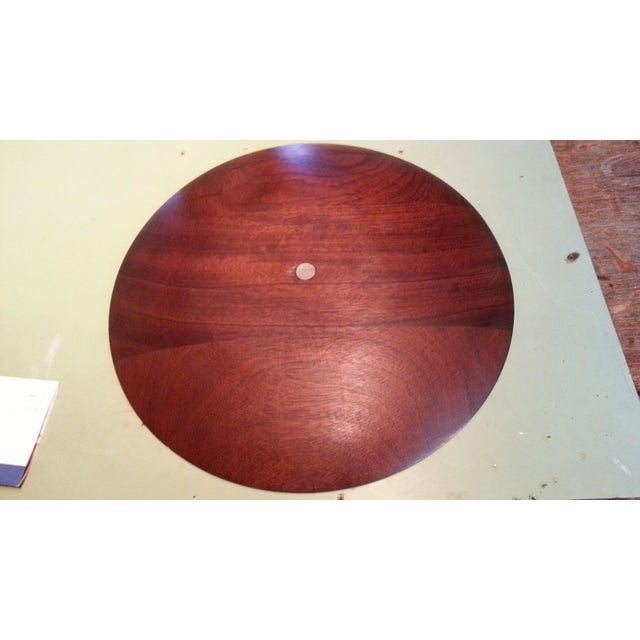 Mid-Century Modern Mid Century Paul Evans Walnut & Inlaid Pewter Sunburst Platter Charger For Sale - Image 3 of 5