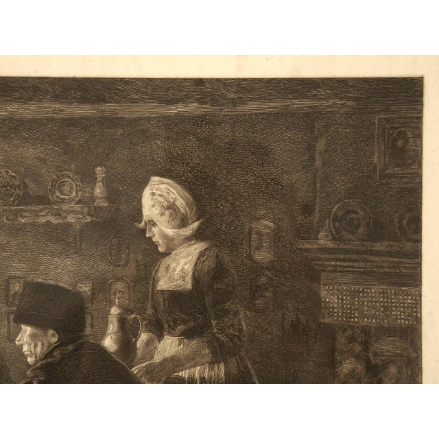 Authentic Jules Benoit-Lévy Engraving For Sale - Image 5 of 11