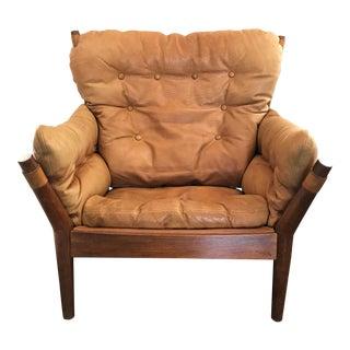 John Mortensen Lounge Chair Model 4521 for Magnus Olesen For Sale