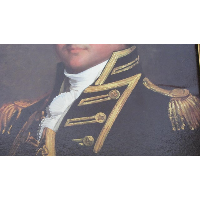 Revolutionary War Commodore Portrait - Image 4 of 10