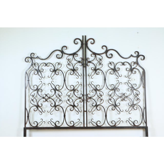 Vintage Metal Headboard in good condition. In the size for a California king bed. It was made in the 1960s.