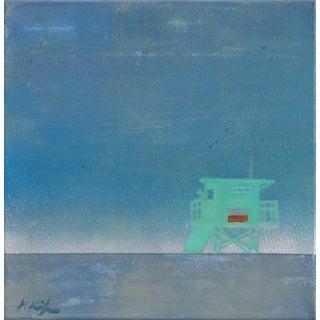 "Kathleen Keifer ""Silver Surf"" Original Painting For Sale"
