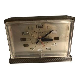 1970s Vintage Mid Century Electric Desk Clock For Sale