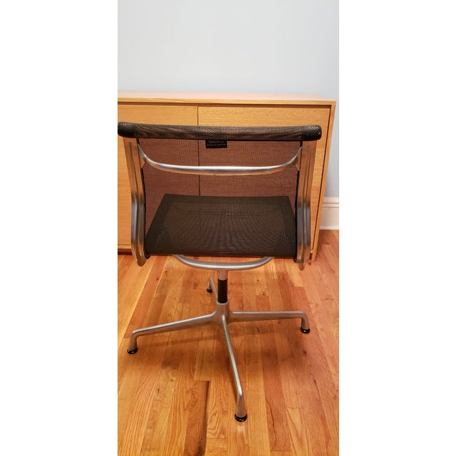 Modern 1990s Vintage Herman Miller Eames Office Chairs- A Pair For Sale - Image 3 of 4