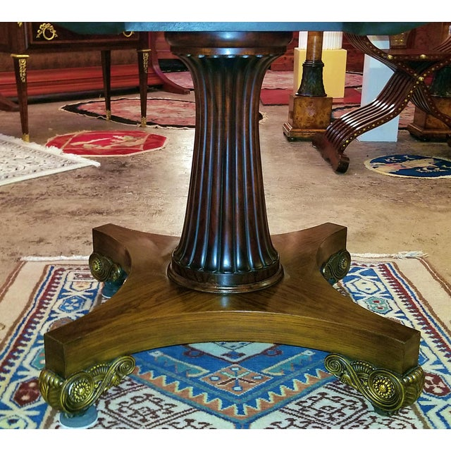 Boxwood Late 19th Century American Mahogany Extendable Dining or Center Table For Sale - Image 7 of 13