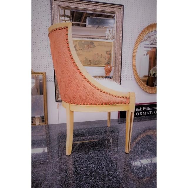 Faux Fur Deco Boudoir Chairs - A Pair - Image 4 of 10
