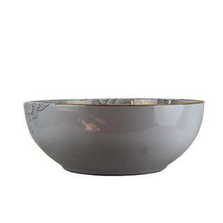 Pasargad DC Modern White Motif Sink Bowl For Sale