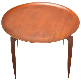 Teak Tray Table by H Engholm and Svend Aage Willumsen for Fritz Hansen For Sale